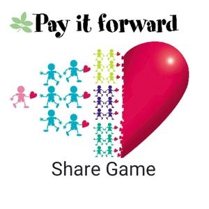 Pay It Forward Share Game - No share backs!